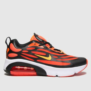 Nike Orange Air Max Exosense Boys Youth
