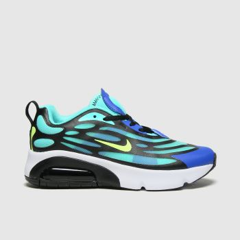 Nike Turquoise Air Max Exosense Boys Youth