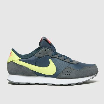 Nike Navy & Lime Md Valiant Boys Youth