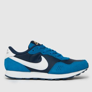 Nike Navy & Pl Blue Md Valiant Boys Youth