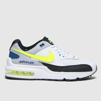 Nike White & Green Air Max Wright Boys Youth