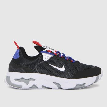 Nike Black & White React Live Boys Youth
