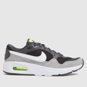 Nike Grey & Lime Air Max Sc Boys Youth