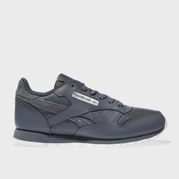 Reebok Navy Classic Leather Montana Boys Youth