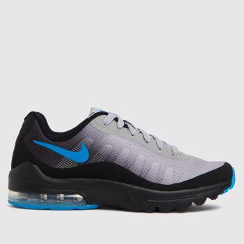 Nike Grey & Black Air Max Invigor Boys Youth