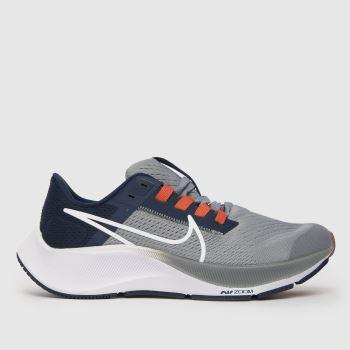 Nike Marineblau-Grau Air Zoom Pegasus 38 Jungen Jugendliche