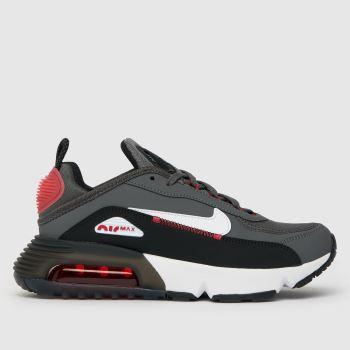 Nike Grey & Black Air Max 2090 C/s Boys Youth
