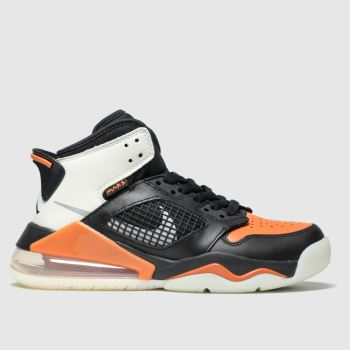 Nike Jordan Black & Orange Mars 270 Boys Youth