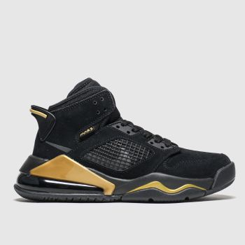 Nike Jordan Black & Gold Mars 270 Boys Youth