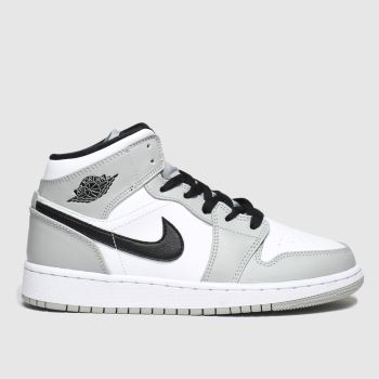 Boys Light Grey Nike Jordan Air Jordan