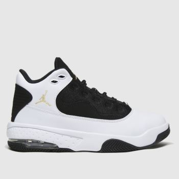 Nike Jordan White & Black Jordan Max Aura 2 Boys Youth