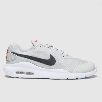 Nike Light Grey Air Max Oketo Boys Youth