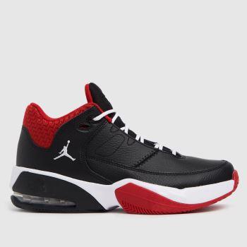 Nike Jordan Black & Red Max Aura 3 Boys Youth