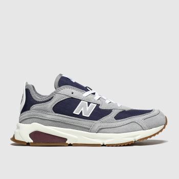 New Balance Grey & Navy Xrc Boys Youth