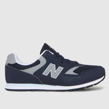 New balance Navy & Grey 393 Boys Youth