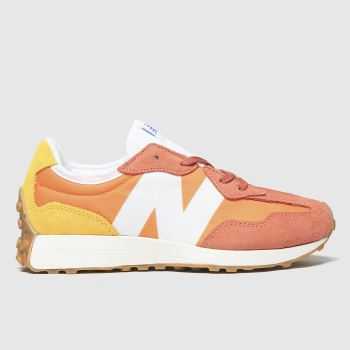 New balance Orange 327 Boys Youth#