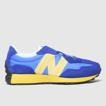 New balance Blue & Yellow 327 Boys Youth