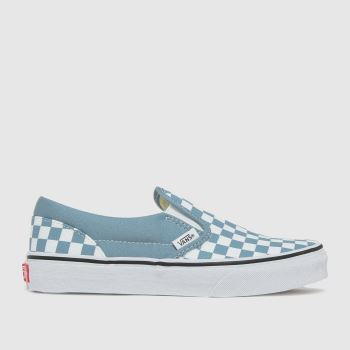 Vans Blue Classic Slip-on Boys Youth