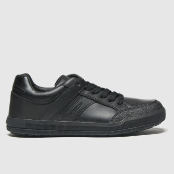 Geox Black Arzach Boys Youth#