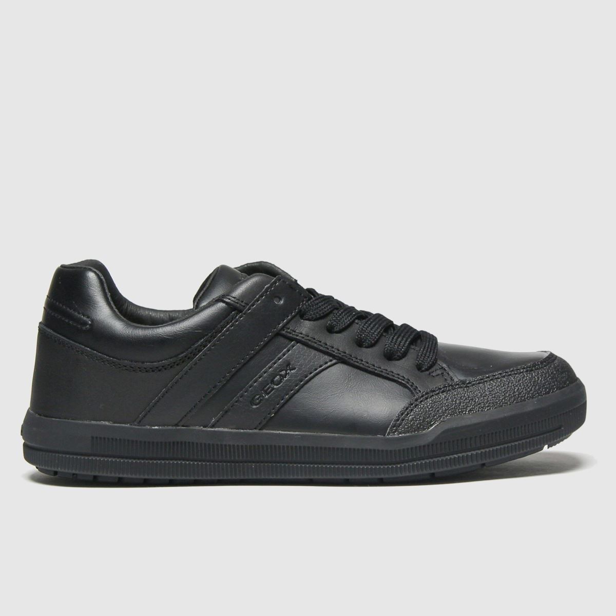 Geox Black Arzach Trainers Youth