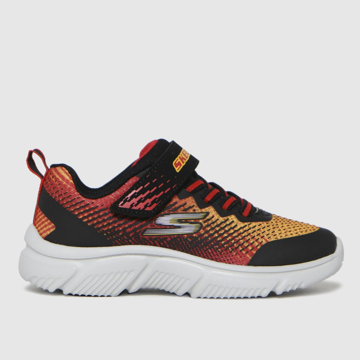 SKECHERS Black & Red Go Run Trainers Youth