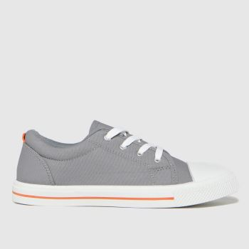 schuh Grey Major Lace Up Boys Youth