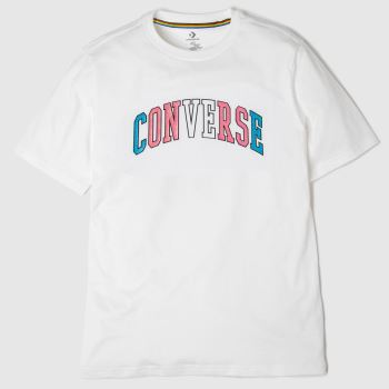 Converse White Pride Tee Unisex