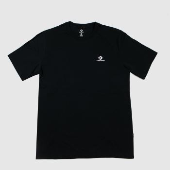 Converse Black Star Chevron Tee Mens