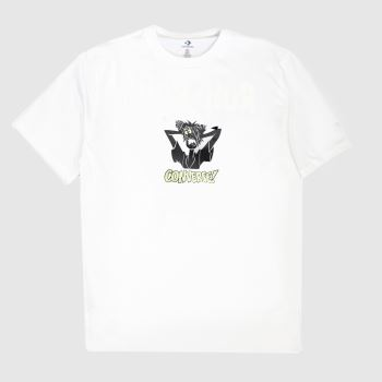 Converse White Scooby Tee Unisex
