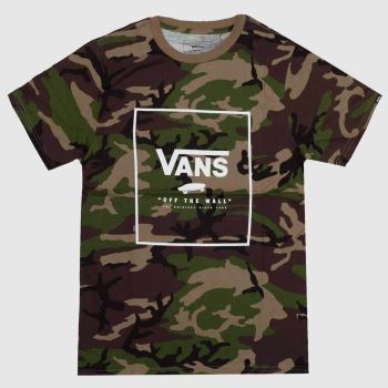 Vans Khaki Print Box Mens