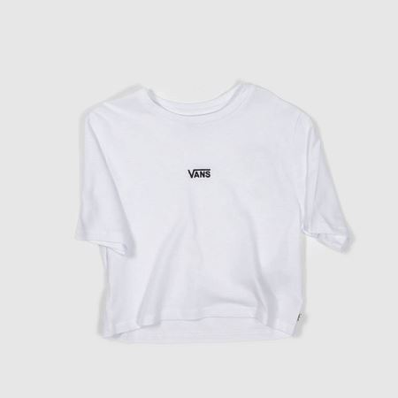 Vans Flying Vee Crop Teetitle=