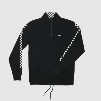 Vans Black & White Vera Zip Sweatshirt Mens