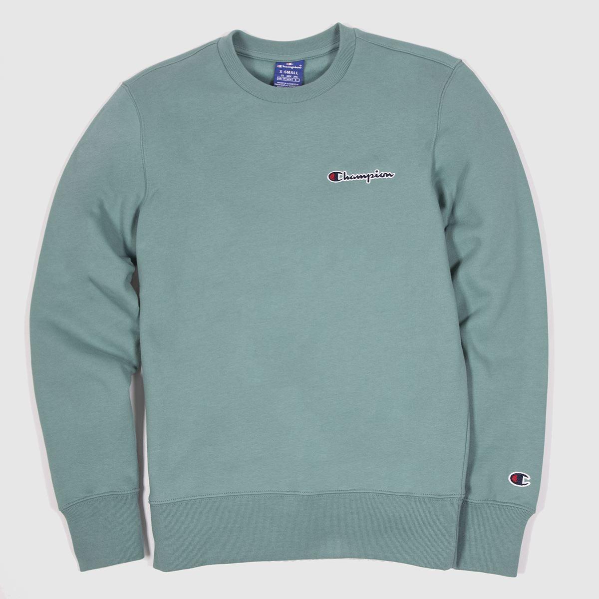 Champion Green Crewneck Sweatshirt