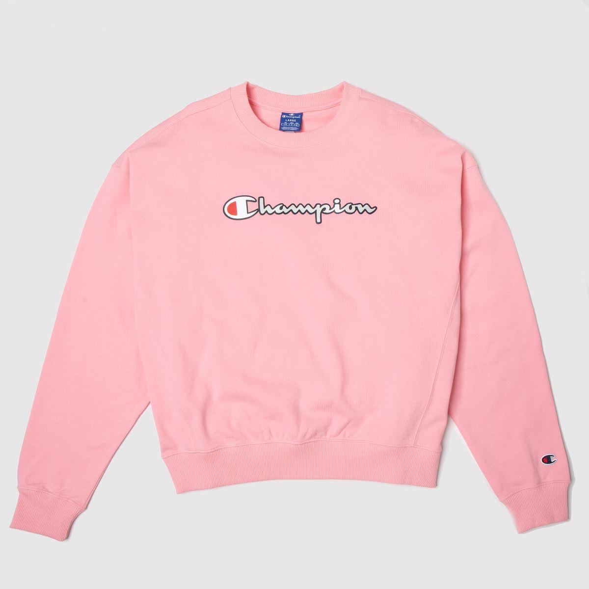 Champion Pink Crewneck Sweatshirt