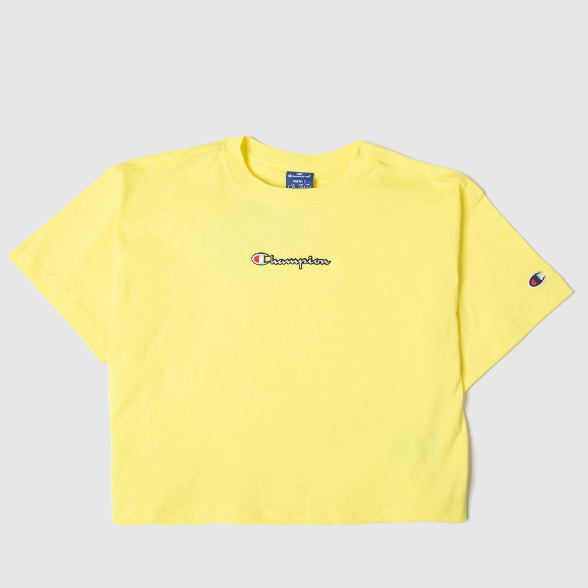 Champion Damen Crop Tee T-Shirt