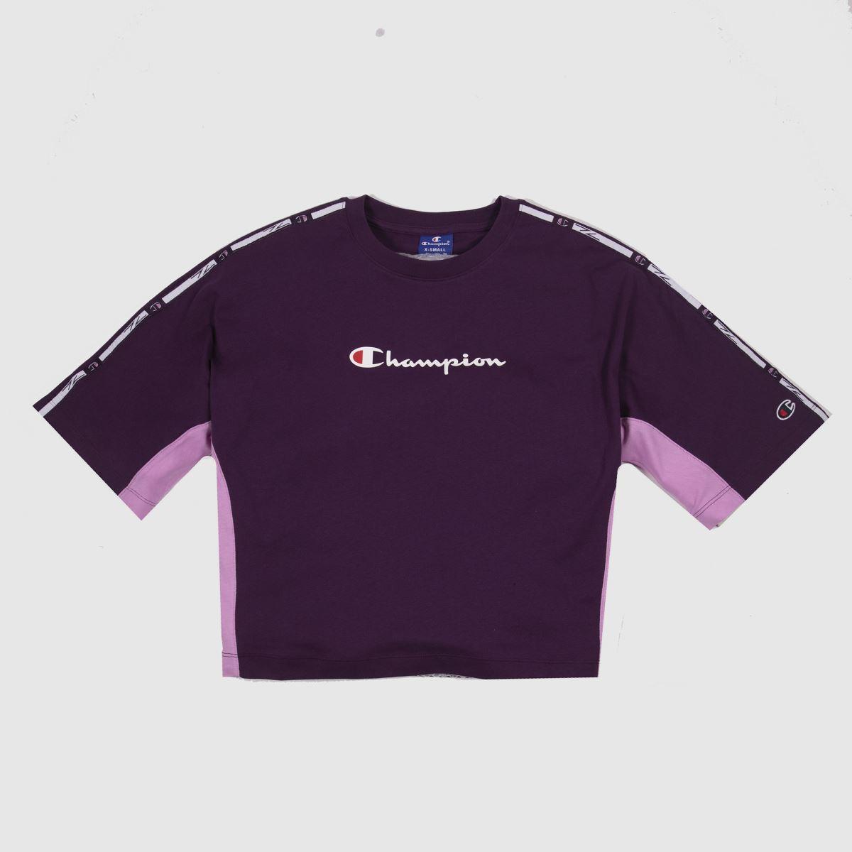 Champion Purple Crewneck T-shirt