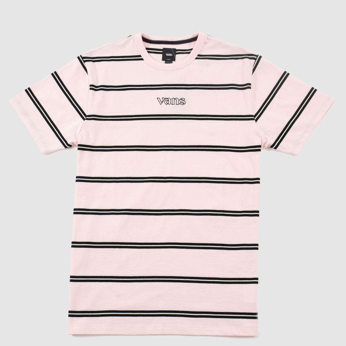 Vans Pale Pink Sixty Sixers Stripe Tee