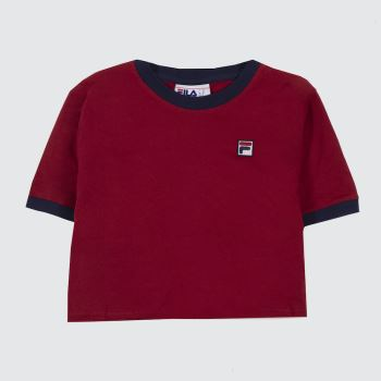 Fila Red Kahleesi Crop Womens