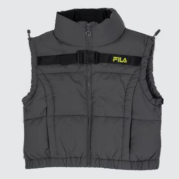 Fila Grey Agrani Utility Vest Womens
