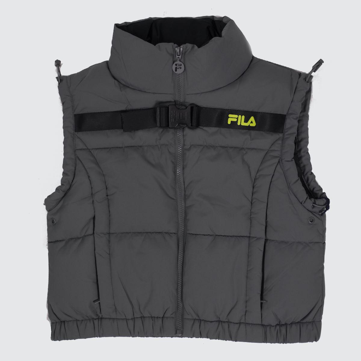 Fila Grey Agrani Utility Vest