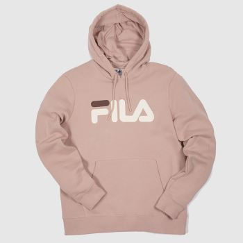 Fila Pale Pink Lucy 2 Hoodies Womens#