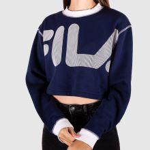 Fila Neha Crop Sweatshirt 1