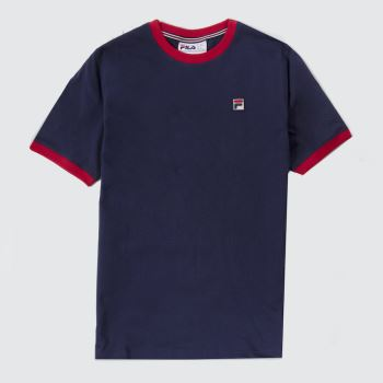 Fila Navy & Red Marconi Ringer Mens