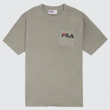 Fila Stone Curtis Logo Pocket Mens