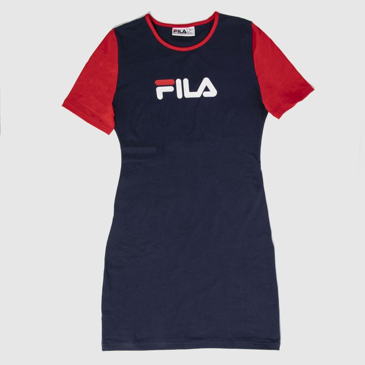 Fila Navy & Red Roslyn Dress