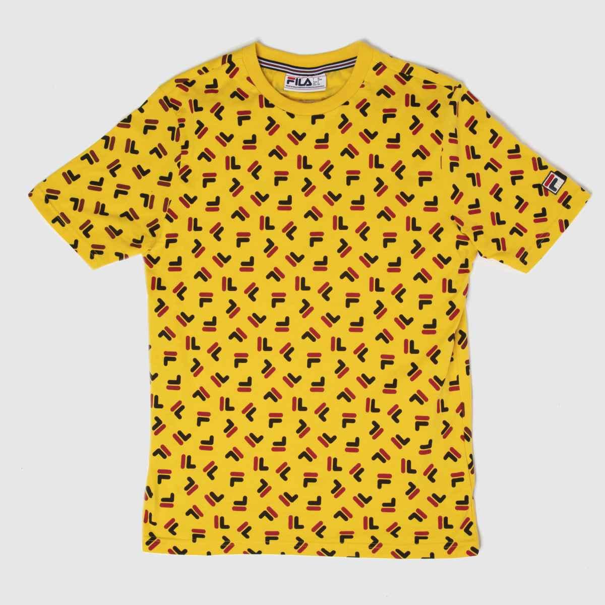 Fila Yellow Adam Tee
