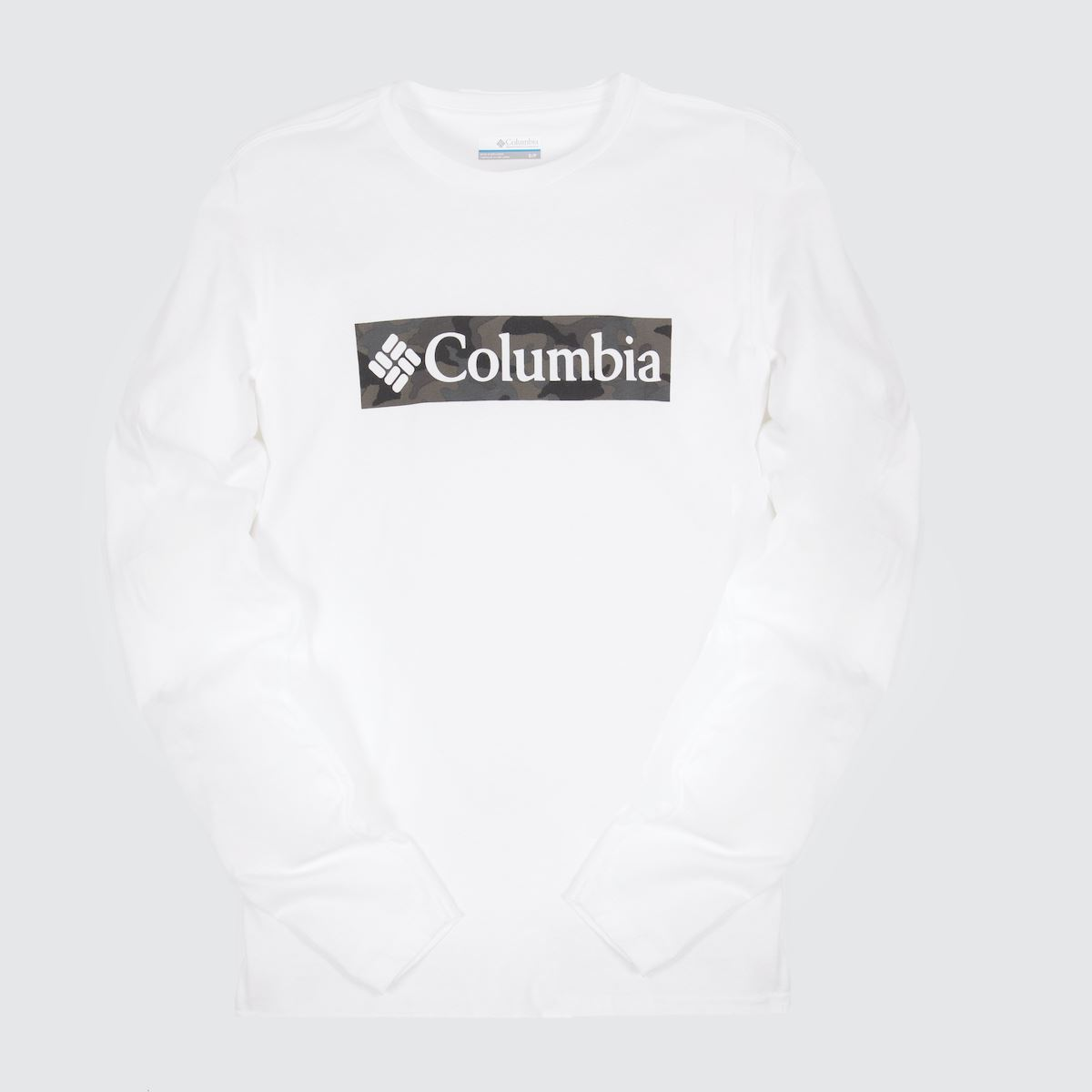 Columbia Clothing Columbia  White Lookout Point Ls Tee