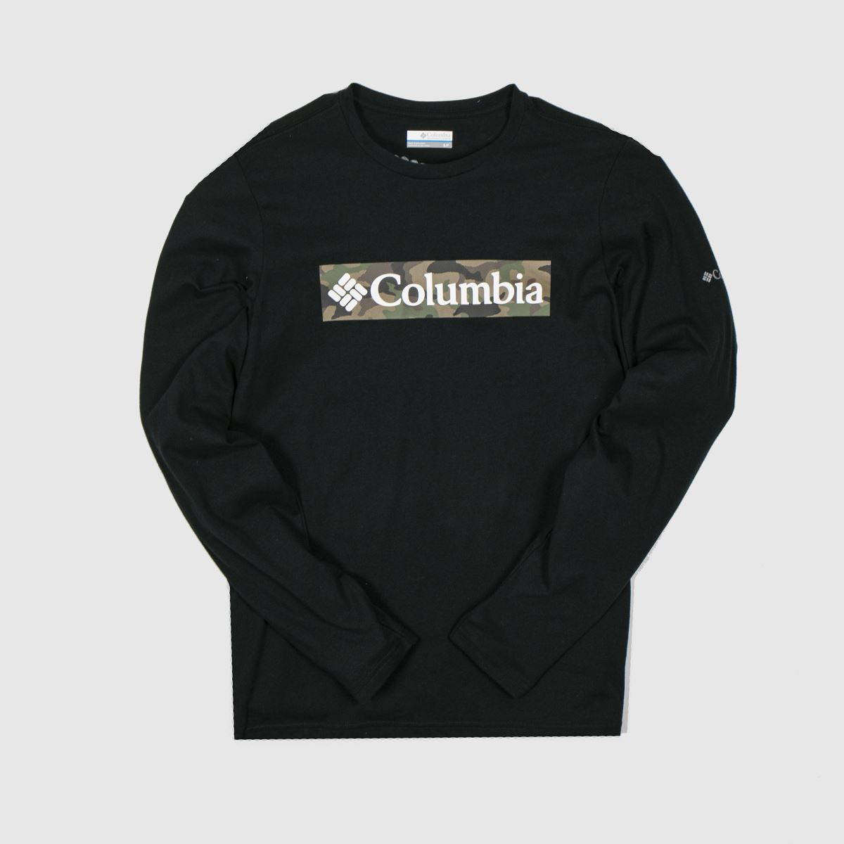 Columbia Black Lookout Point Ls Tee