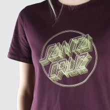 Santa Cruz Linear Dot T-shirt 1