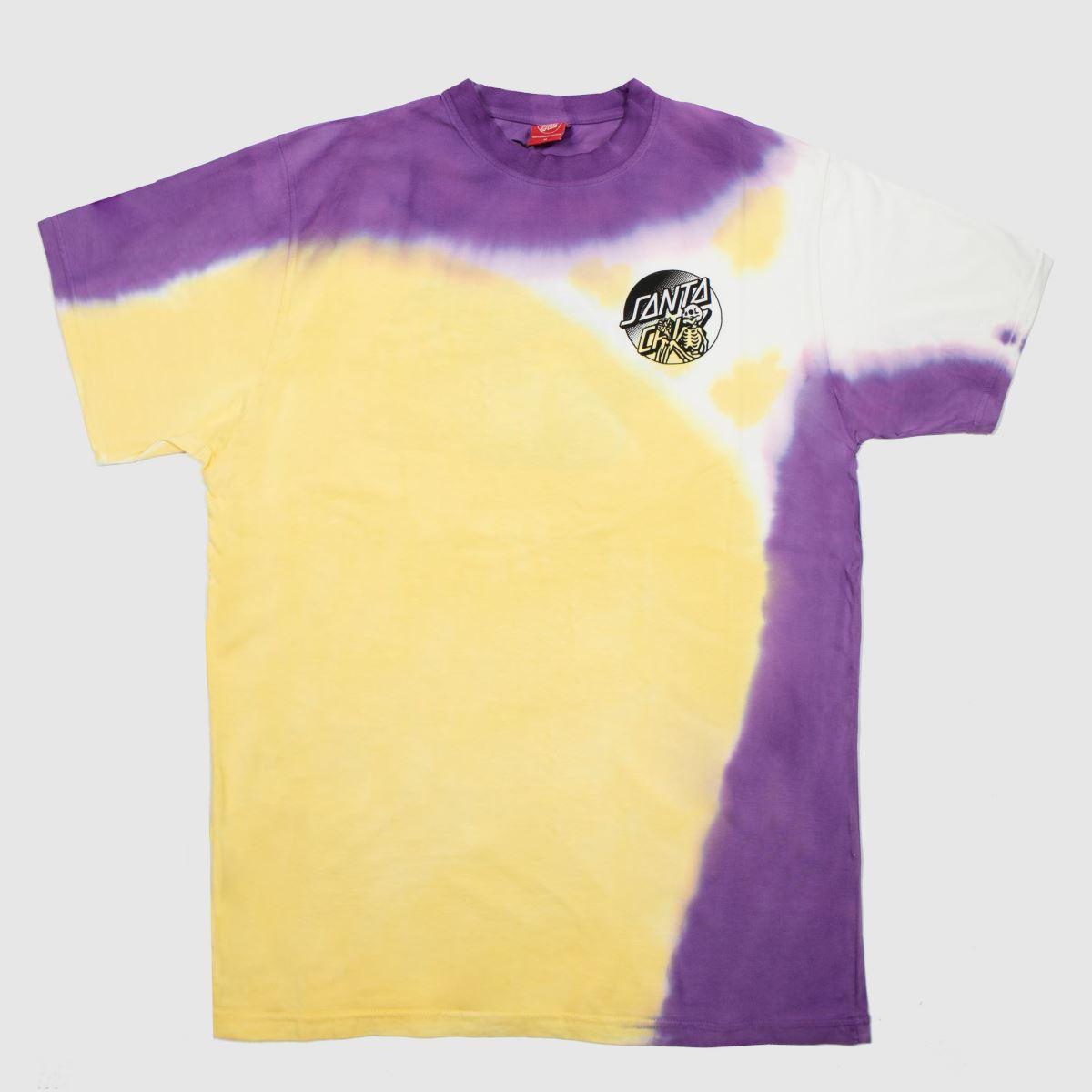 Santa Cruz Clothing Santa Cruz Yellow Dope Planet Fade